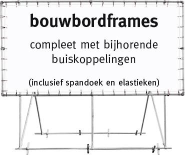 Bouwbordframes